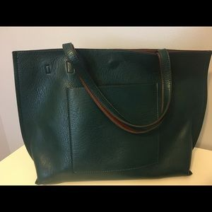 **VEGAN Leather** tote by Street Level